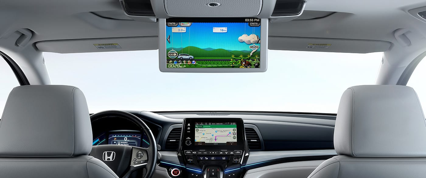 2019 Odyssey Rear Seat Entertainment