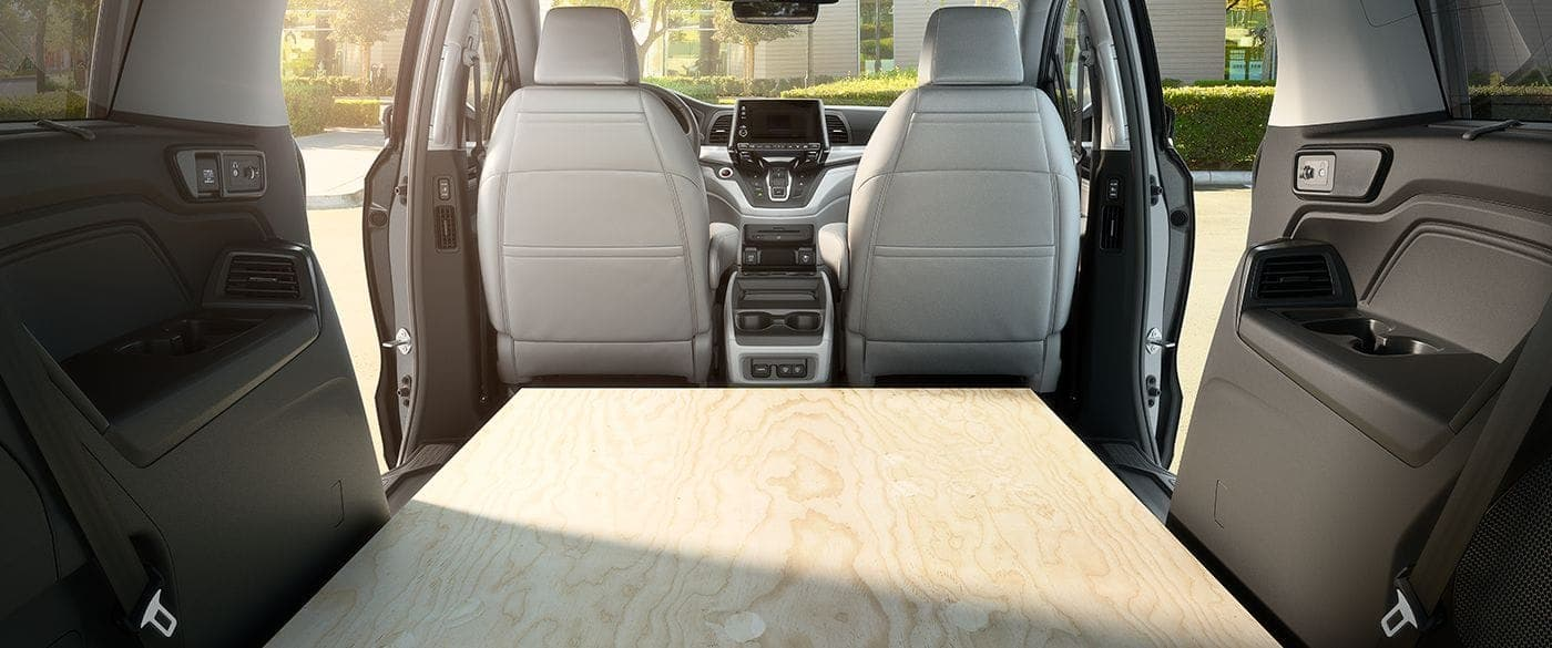 Spacious Cargo Room in the 2019 Odyssey