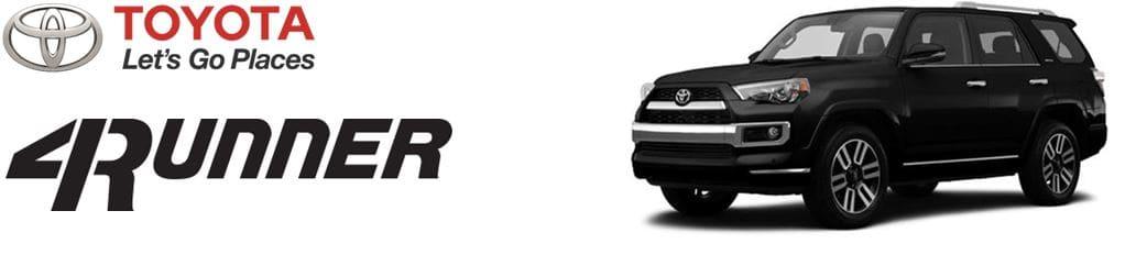 Toyota 4runner Recommended Maintenance | Toyota of Santa