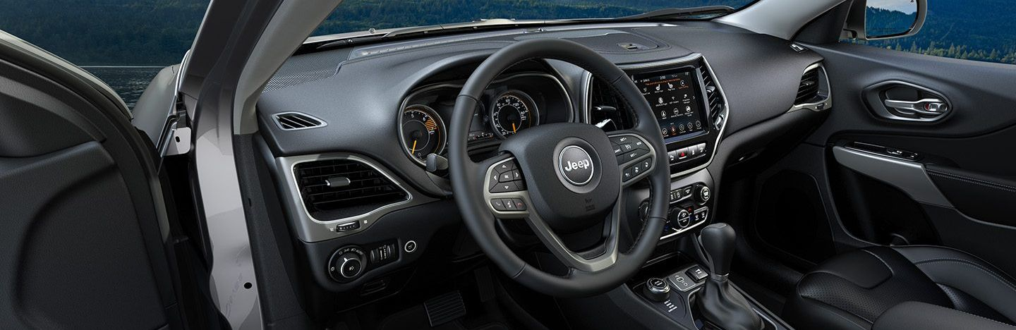 Interior of the 2019 Cherokee