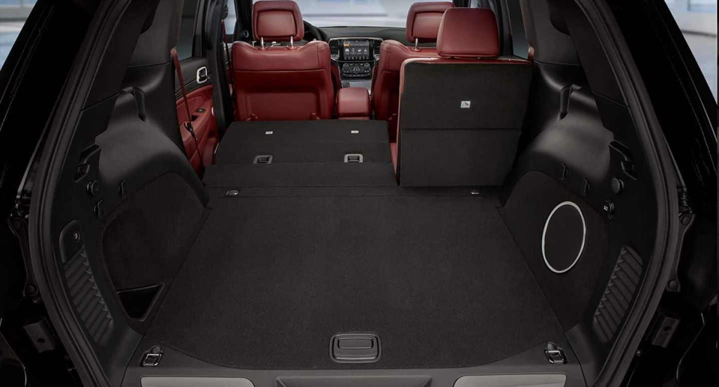 Cargo Area of the Jeep Grand Cherokee