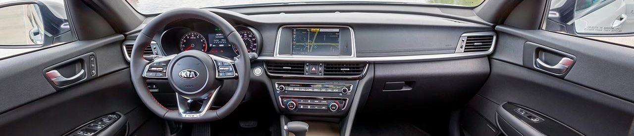 2019 Kia Optima Center Console