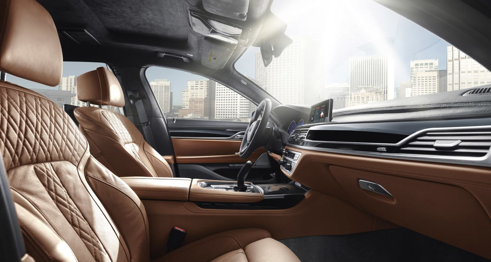 Exquisite Seating in the BMW 7 Series