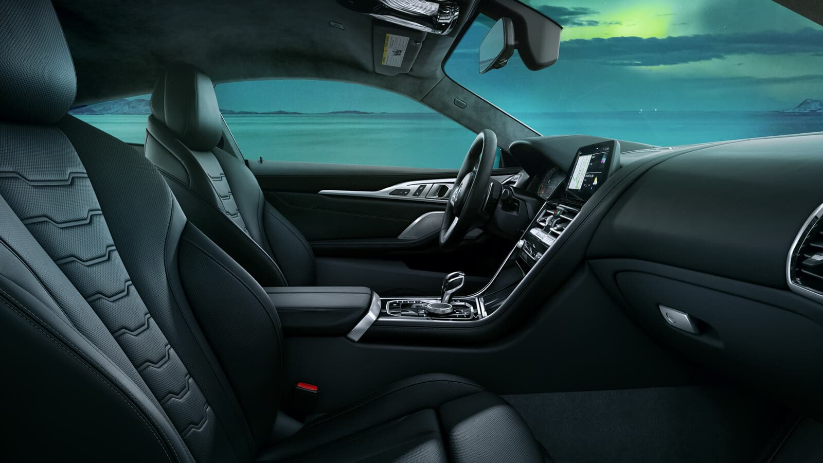Interior of the BMW 8 Series