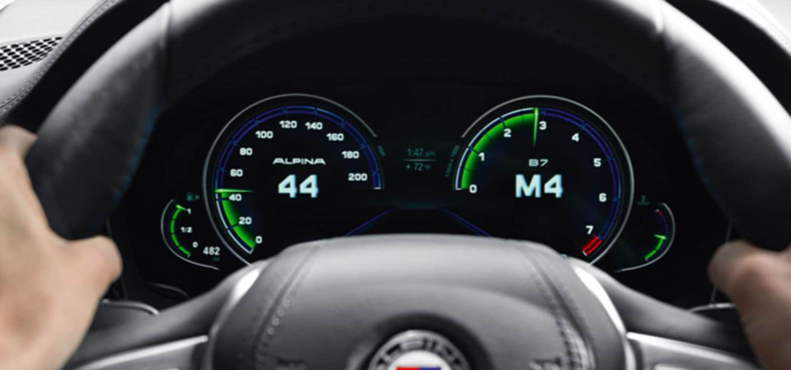 Instrument Cluster in the 2019 7 Series