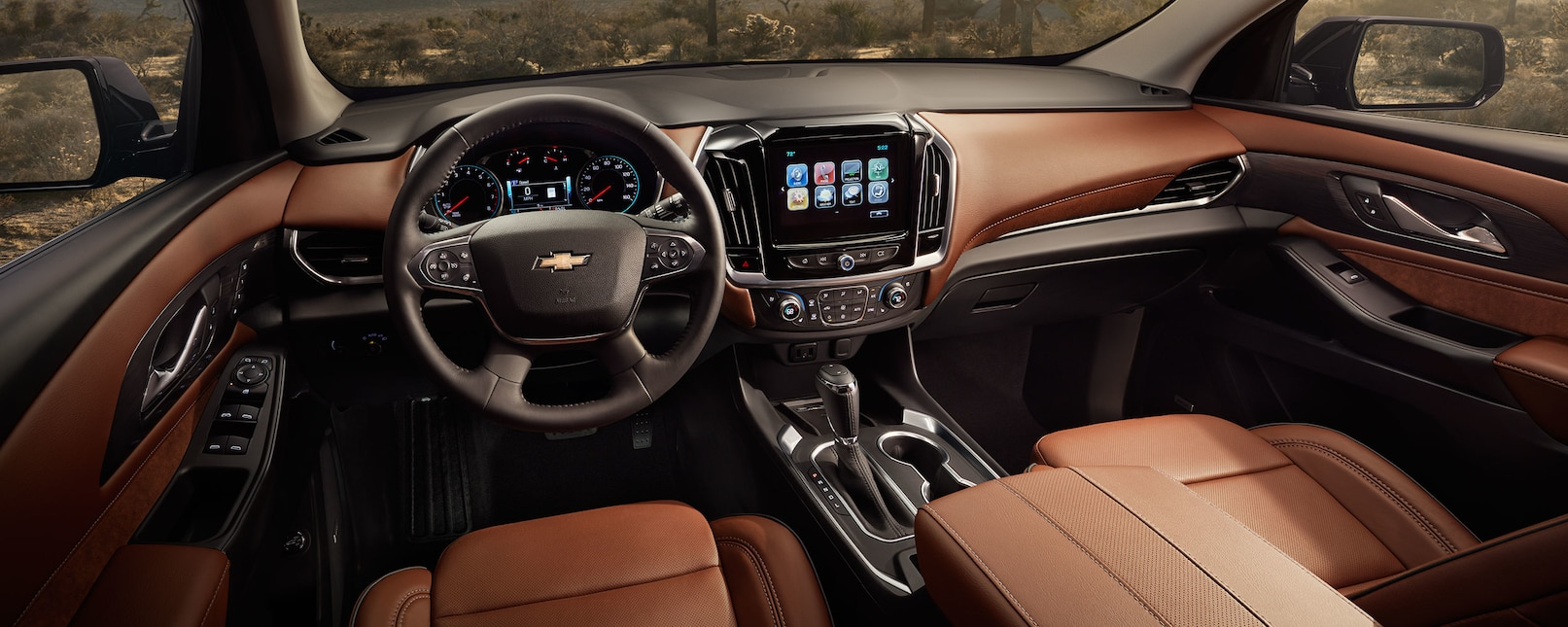2019 Chevrolet Traverse Center Console