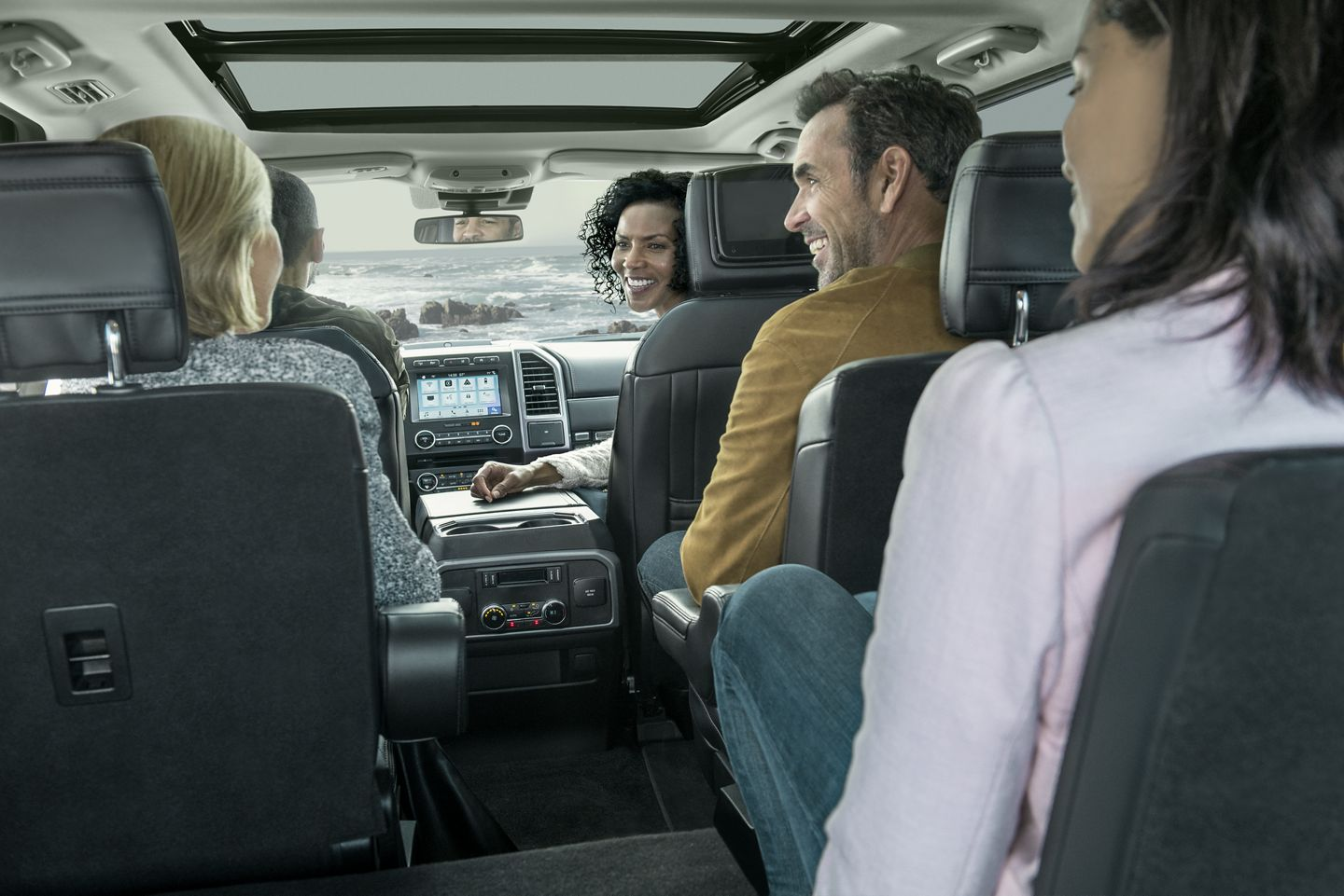 Spacious Seating in the 2019 Expedition