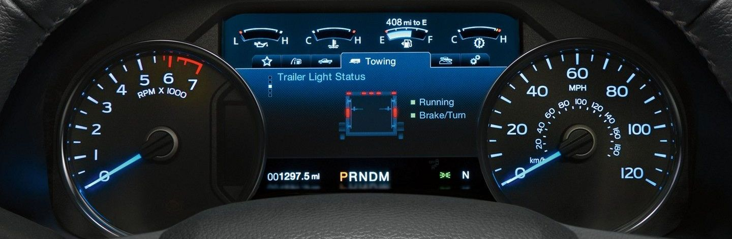 Instrument Cluster of the 2019 F-150