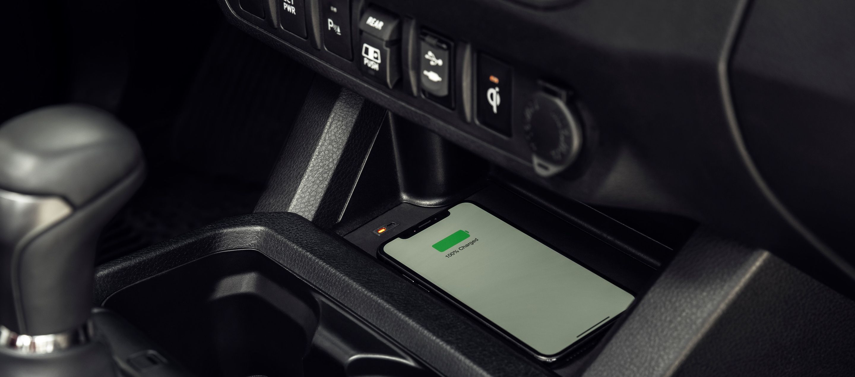 2019 Toyota Tacoma Wireless Charger