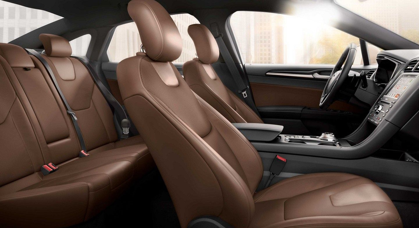 Upscale Seating in the 2019 Fusion