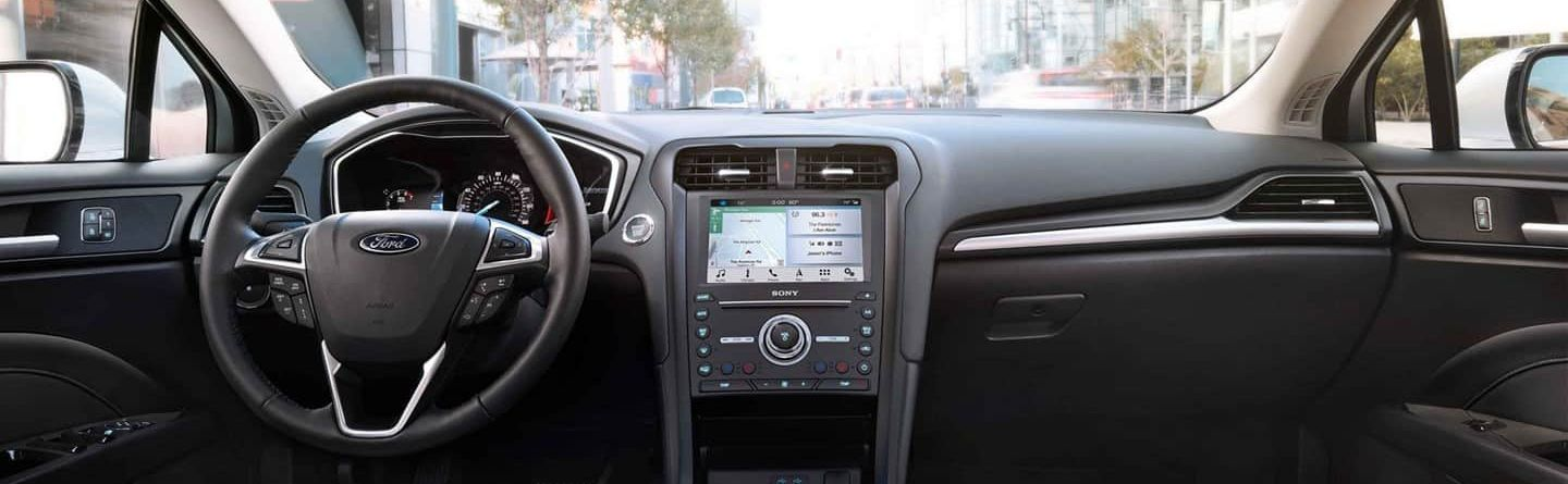 Cabin of the 2019 Fusion