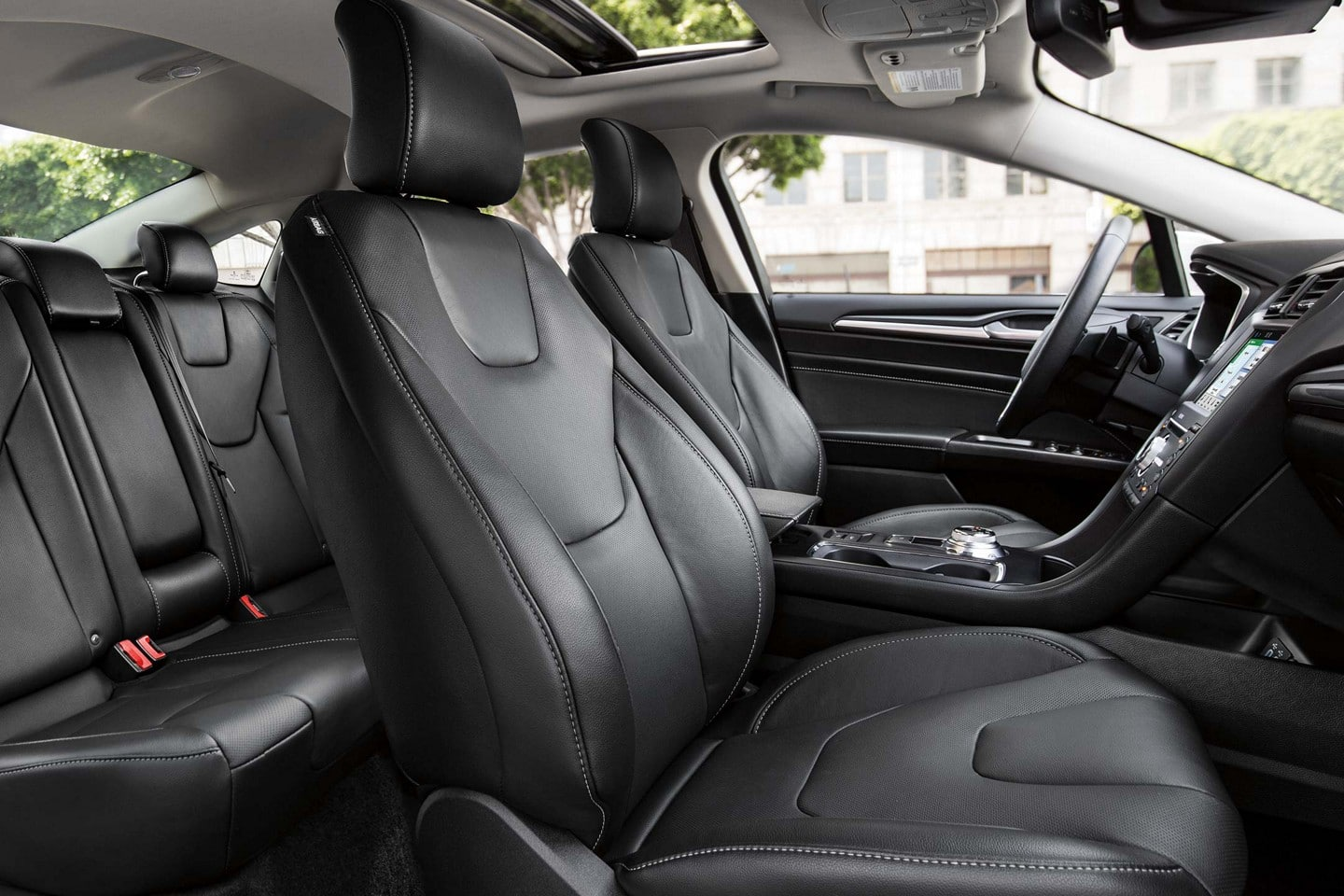 Luxury Inside the 2019 Ford Fusion