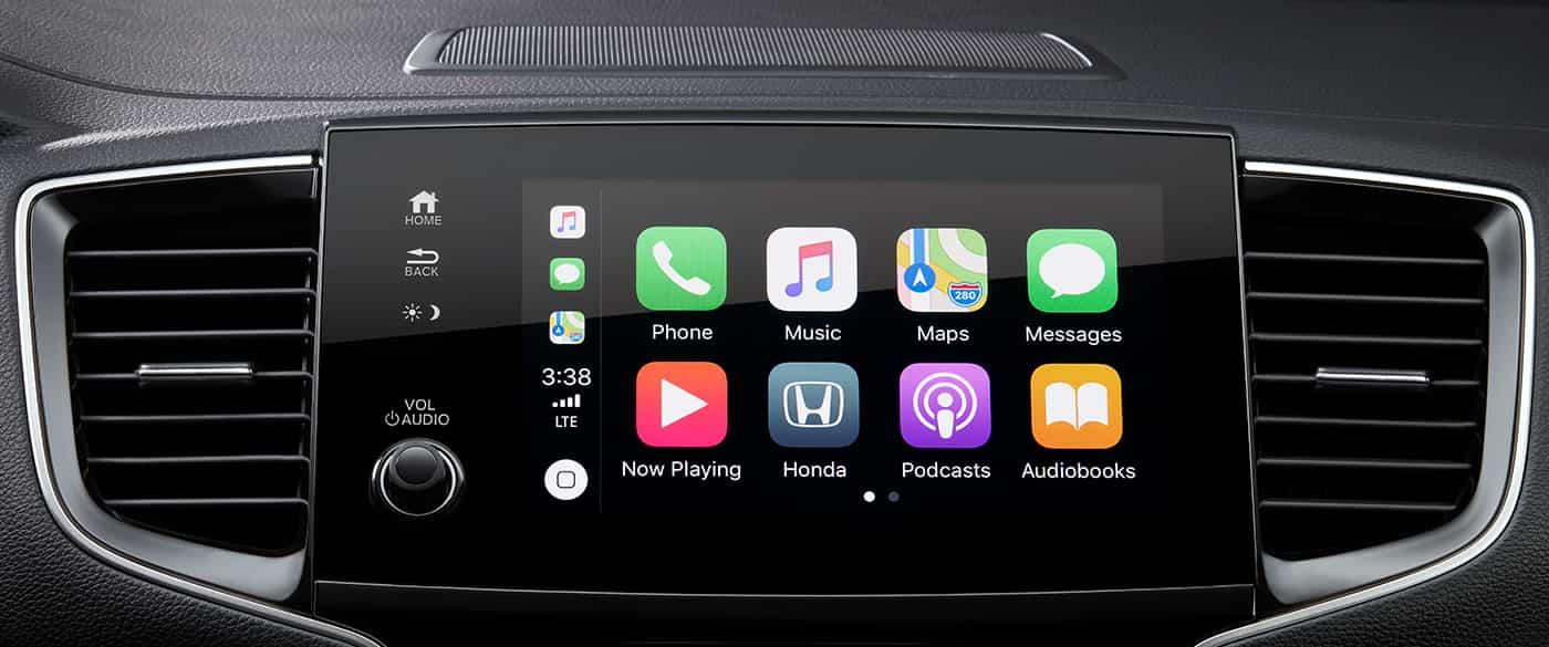 Apple CarPlay in the 2019 Honda Pilot