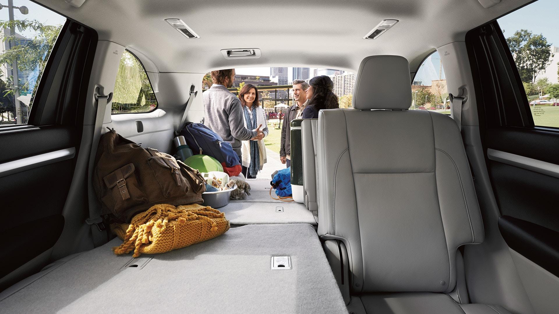2019 Toyota Highlander's Spacious Cabin