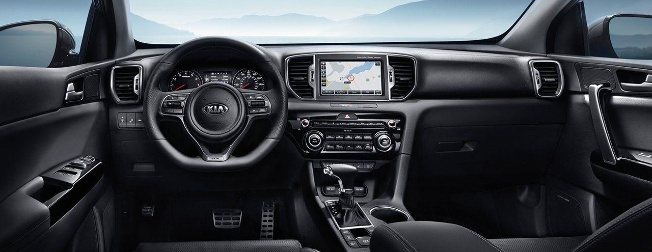 2019 Kia Sportage Dashboard