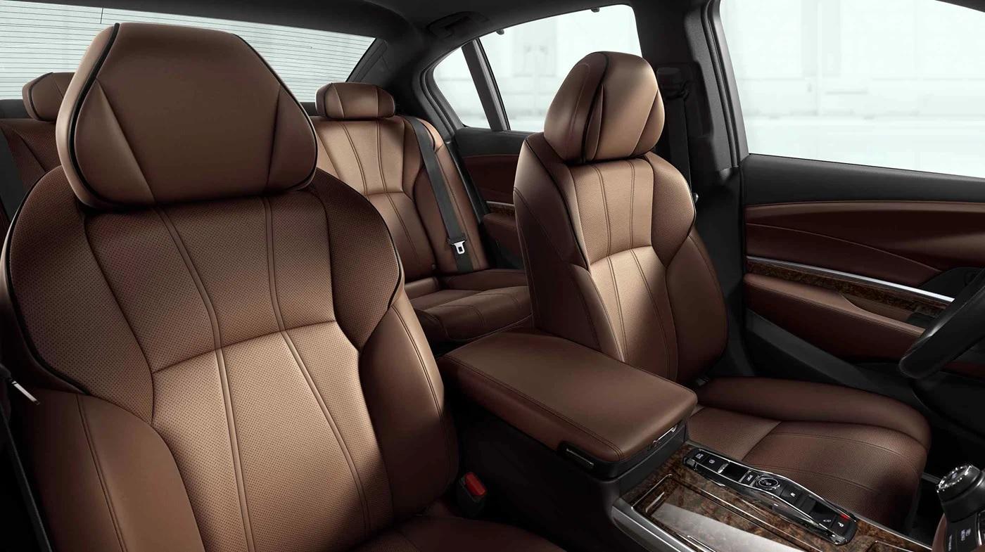 Acura RLX Sport Hybrid 2019 con interior de color Espresso