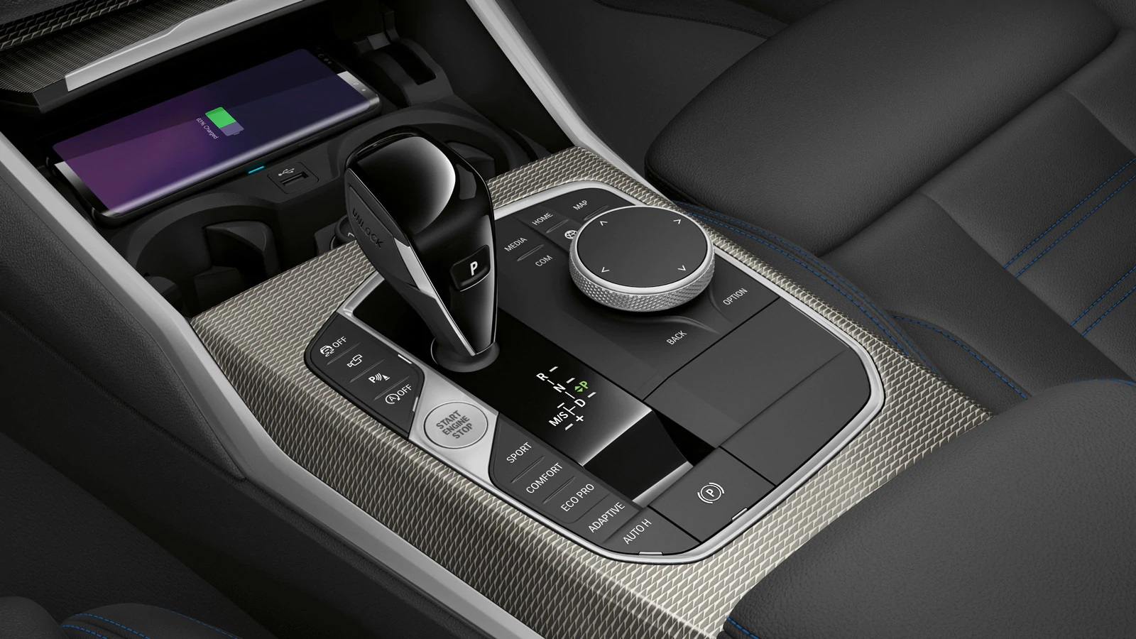 2019 BMW 3 Series Controls