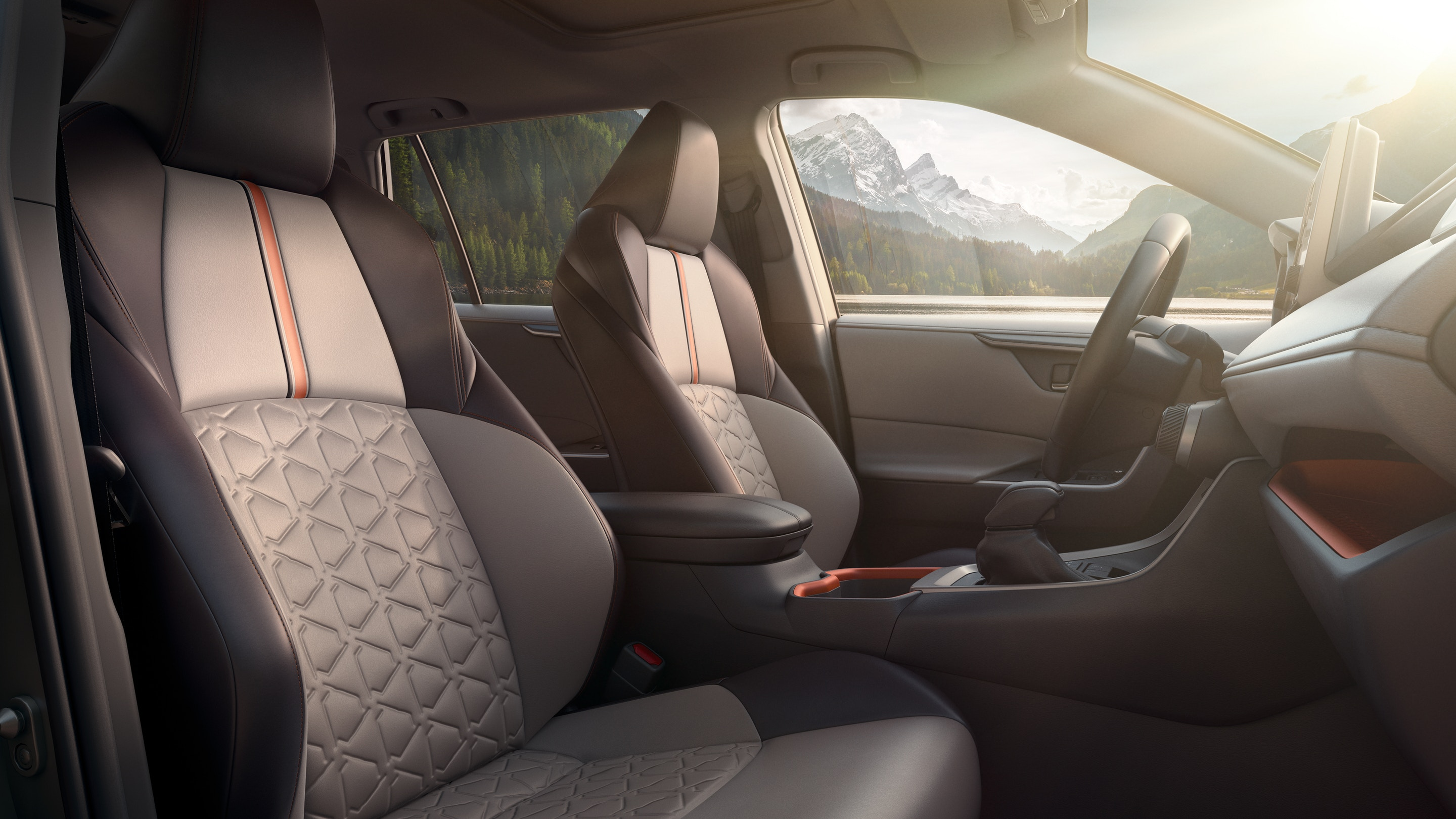 Upscale Seating in the 2019 RAV4