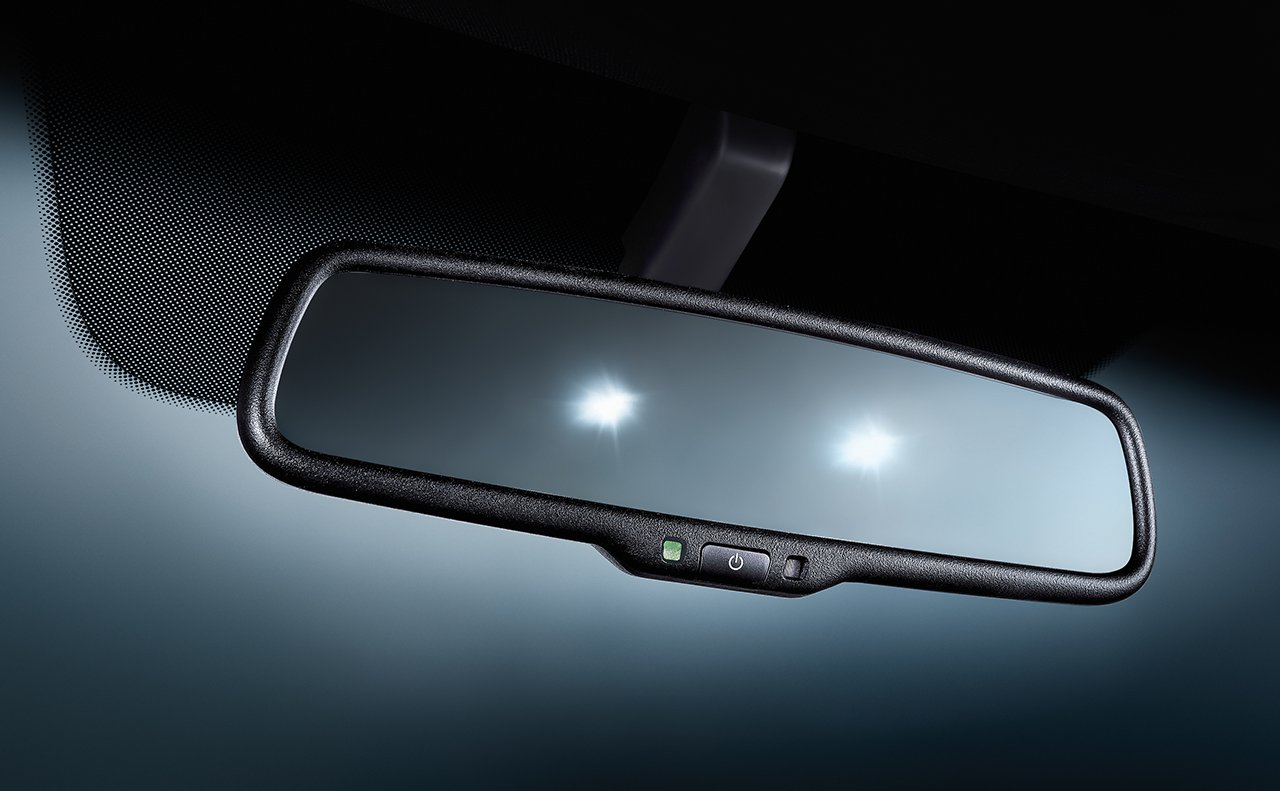 2019 Kia Optima's Auto-Dimming Rearview Mirror