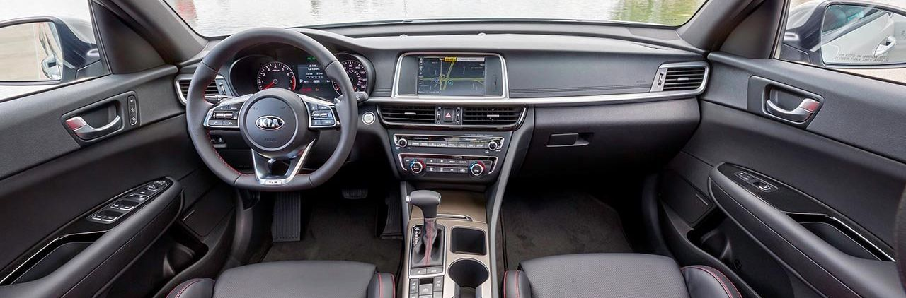 2019 Kia Optima Dashboard