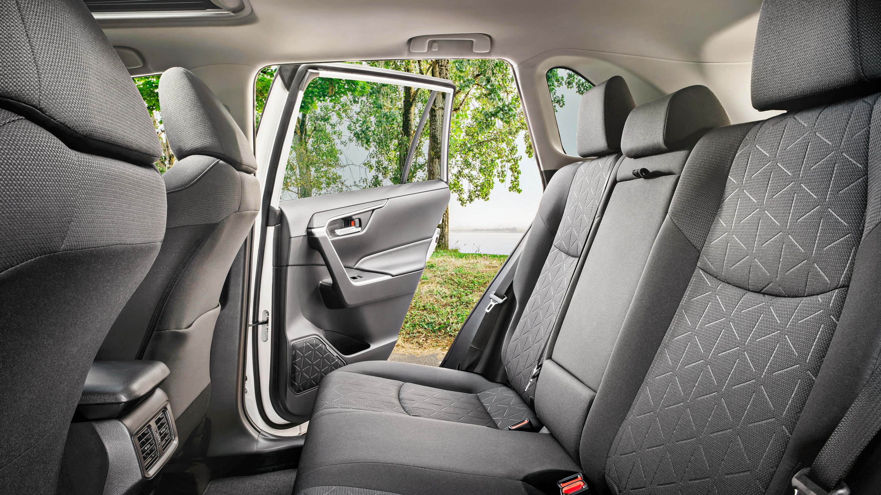 Spacious Rear Seats in the 2019 RAV4