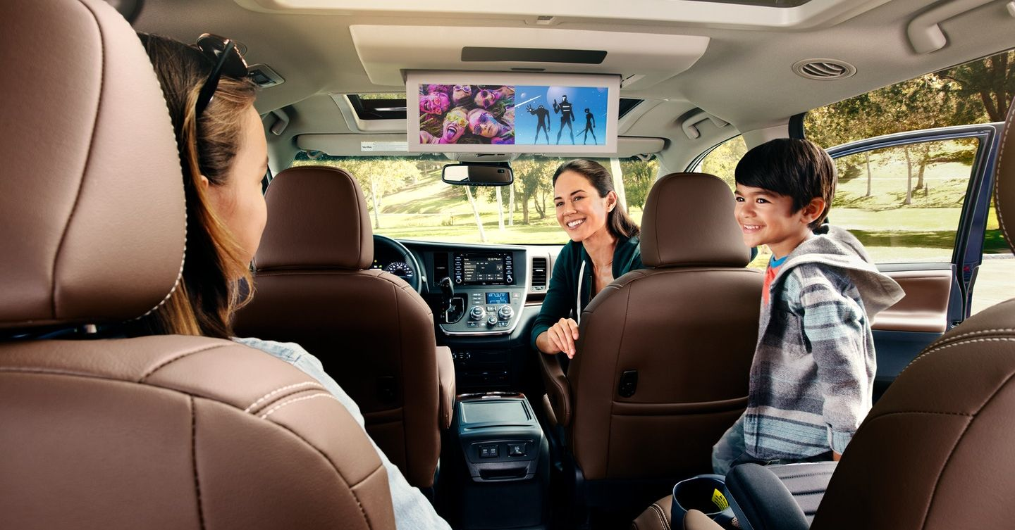 Entertainment in the 2019 Sienna