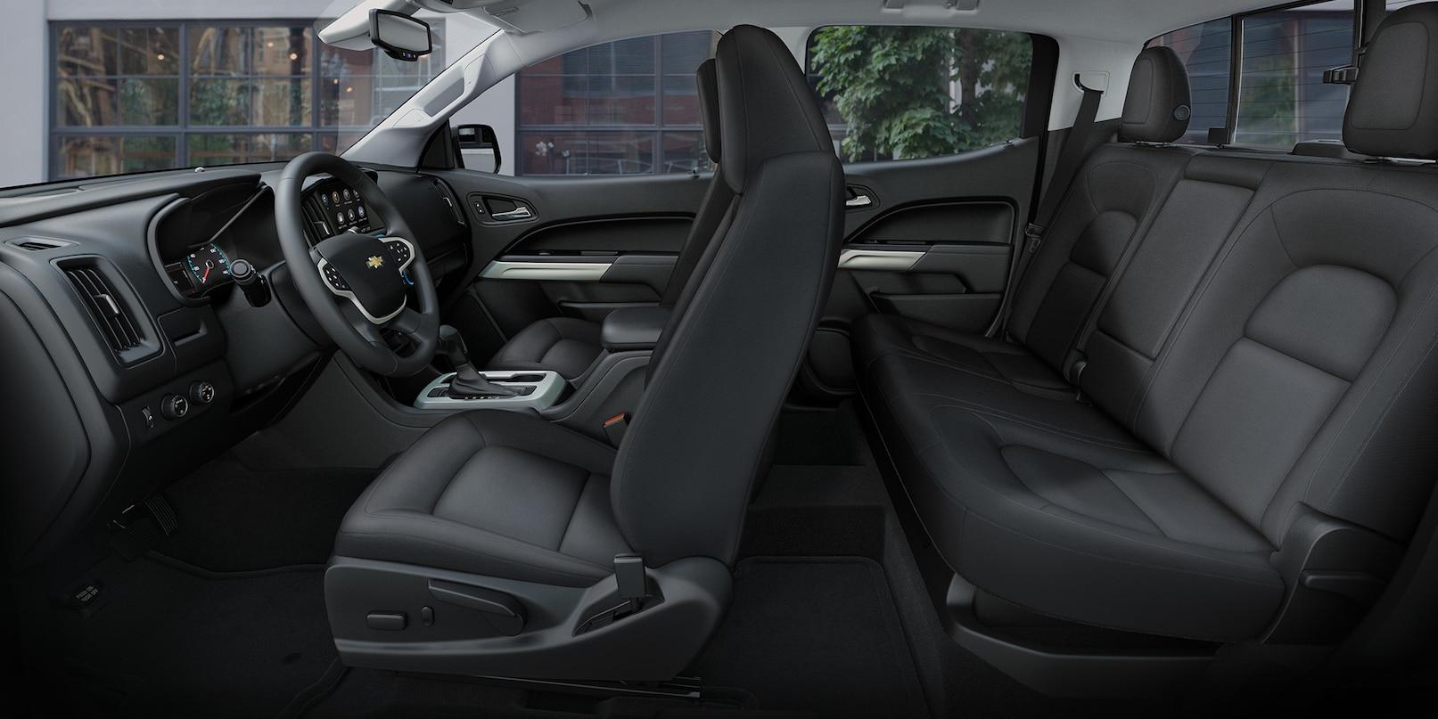 Interior of the 2019 Chevy Colorado