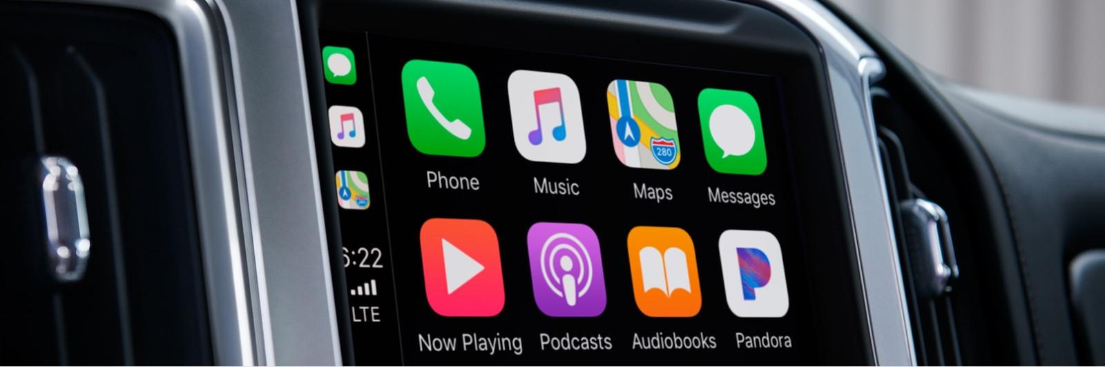 Apple CarPlay in the 2019 Silverado 1500