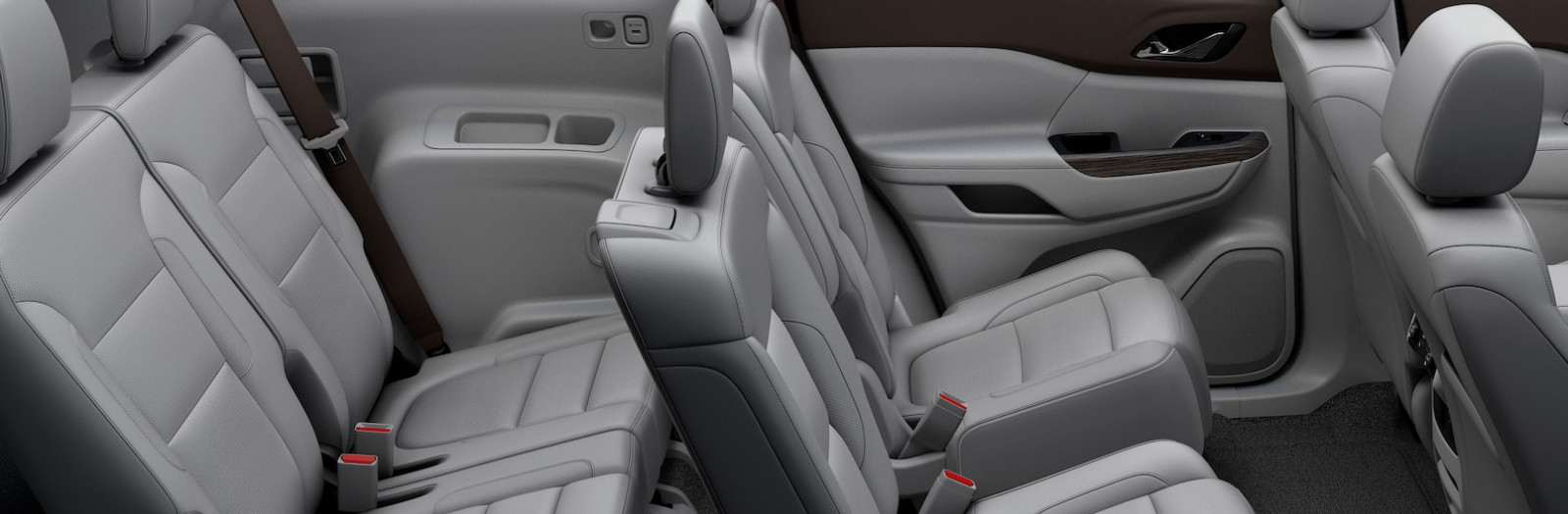 Roomy Seating in the 2019 GMC Acadia
