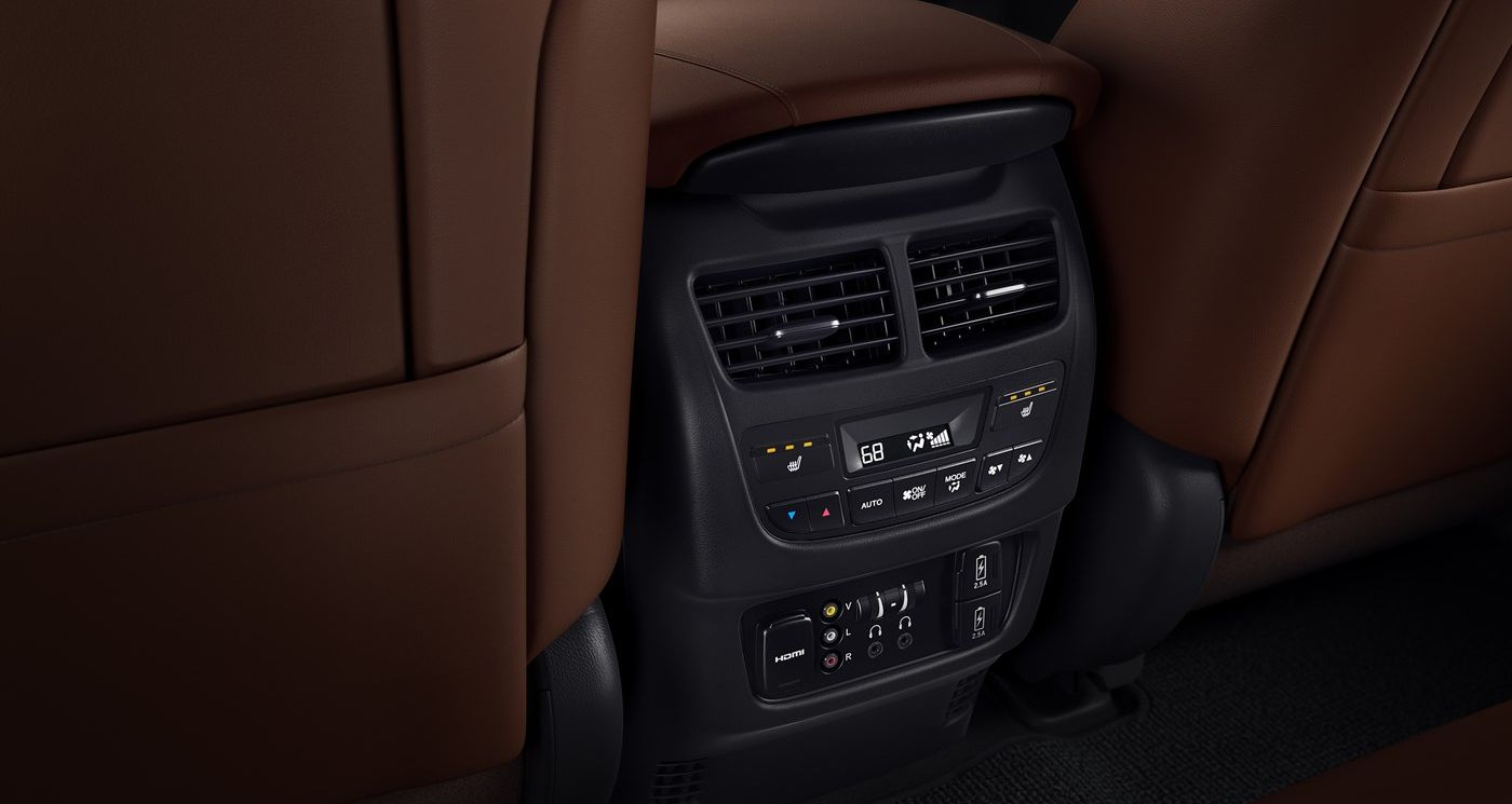 Rear Controls in the 2019 Acura MDX