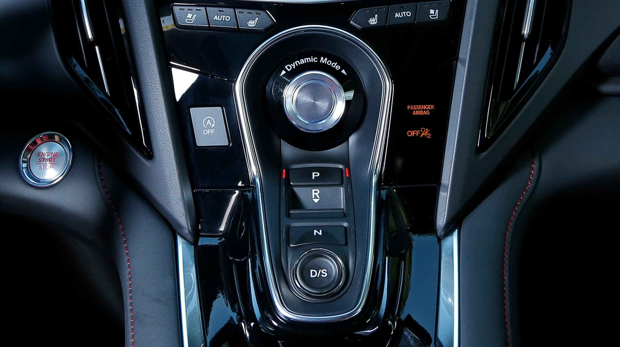 Dynamic Controls in the 2019 Acura RDX