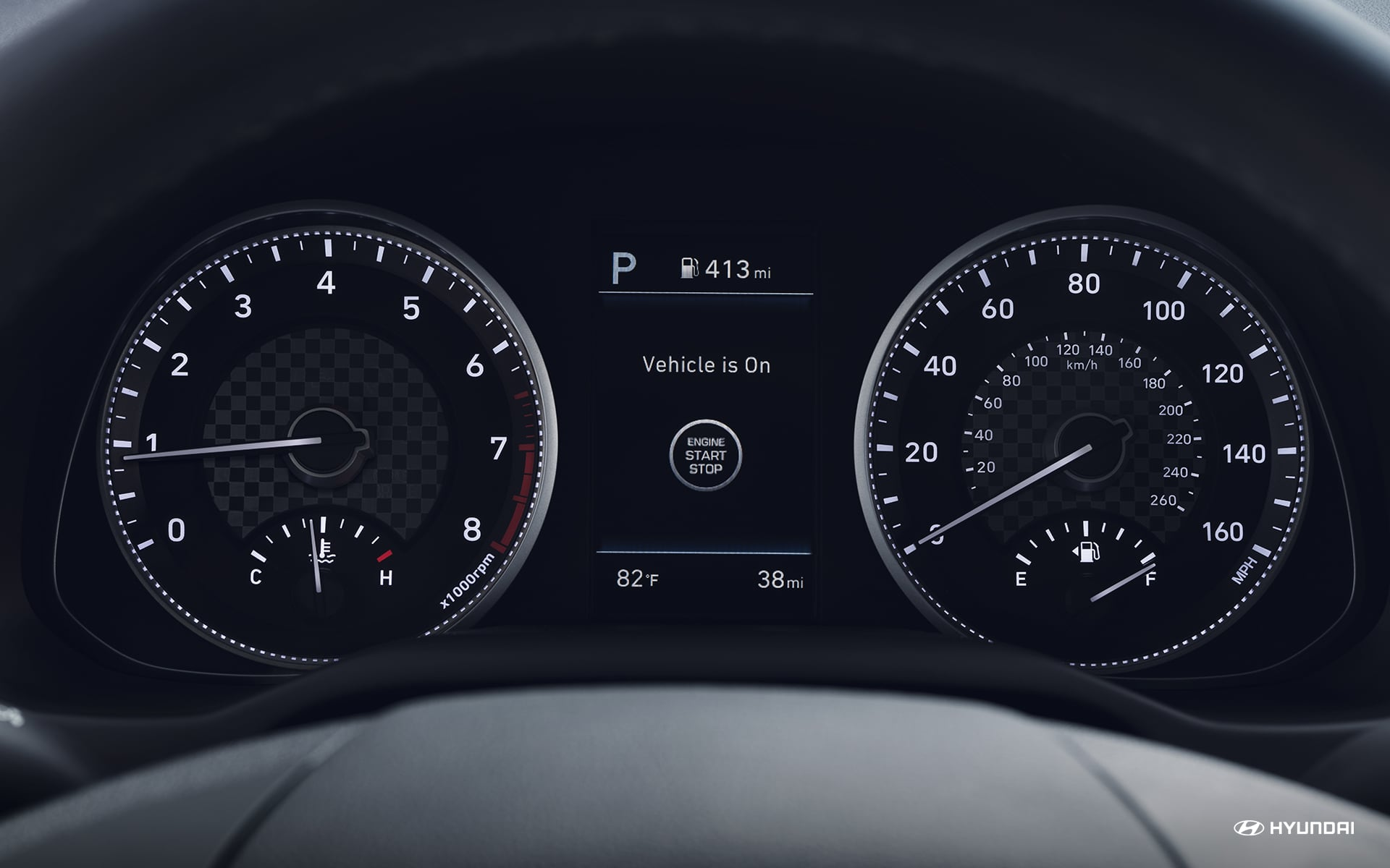 Instrument Cluster in the 2019 Hyundai Elantra