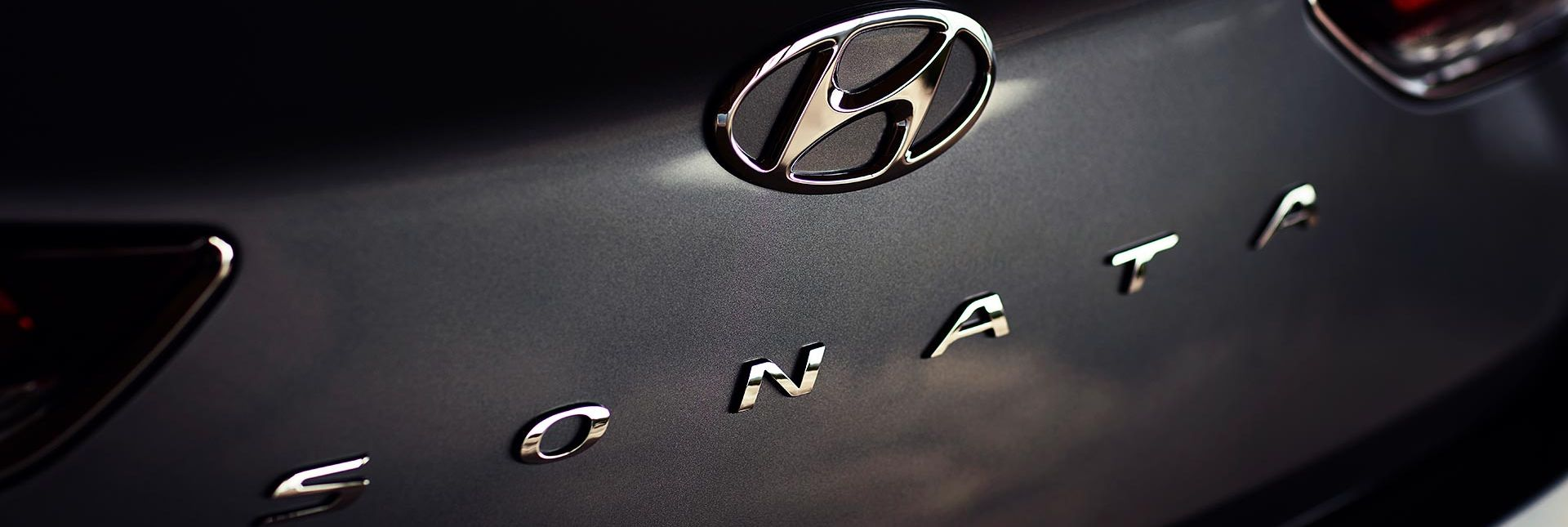 Exterior Badges of the 2019 Sonata