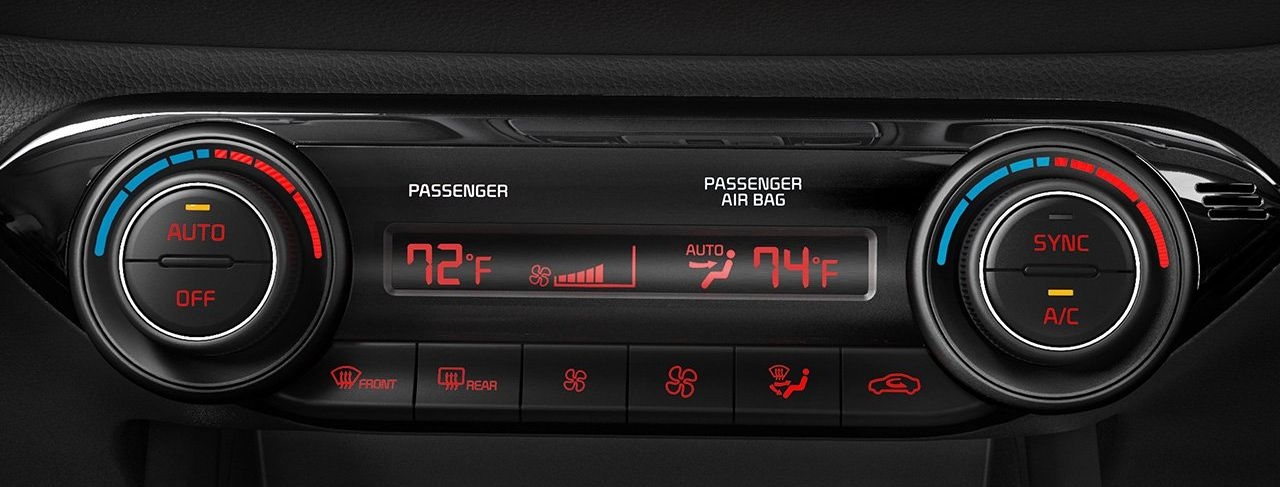 Dual-Zone Climate Control in the Forte