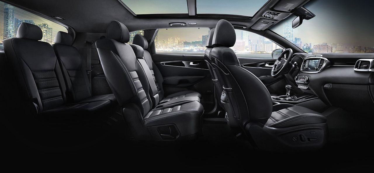 The Spacious Cabin of the Sorento