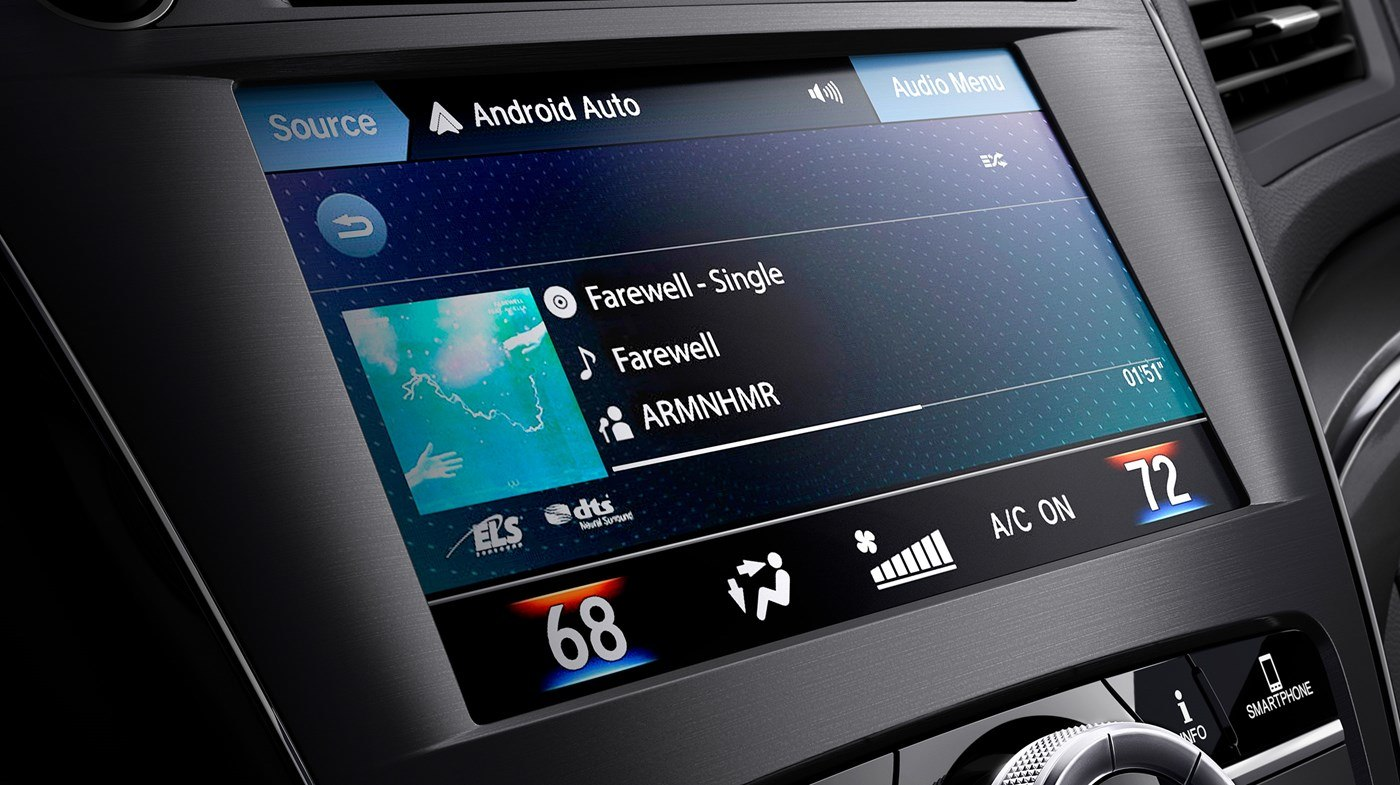 Infotainment in the 2019 Acura ILX