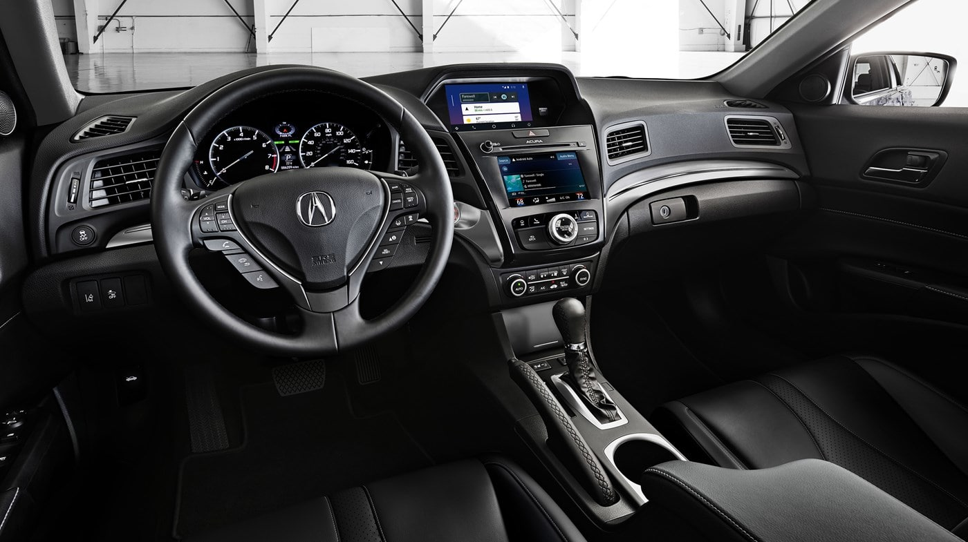 Interior of the 2019 ILX