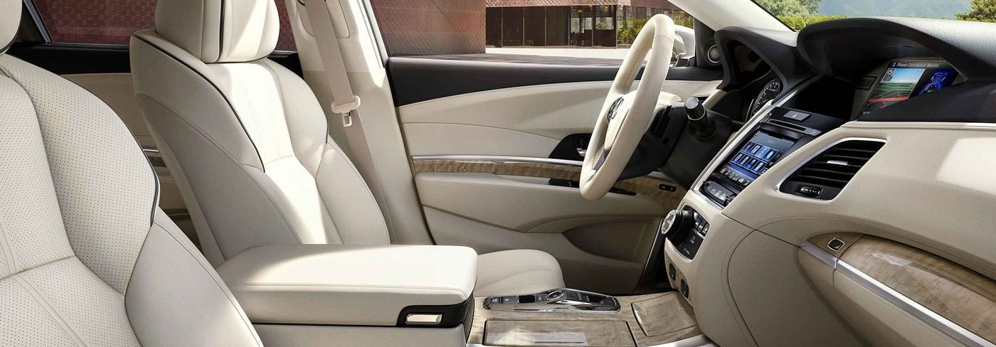 Upscale Interior of the 2019 RLX