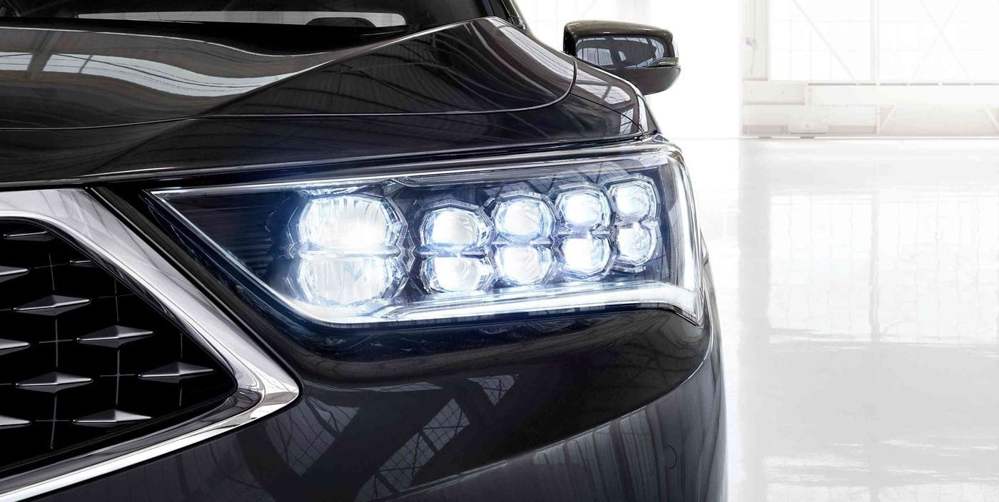 Distinctive 2019 RLX Headlights
