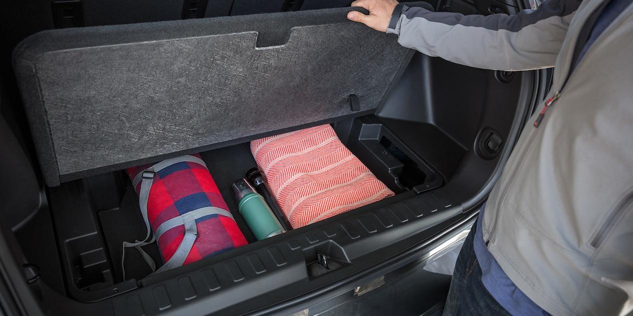 Handy Storage in the 2019 Chevrolet Equinox