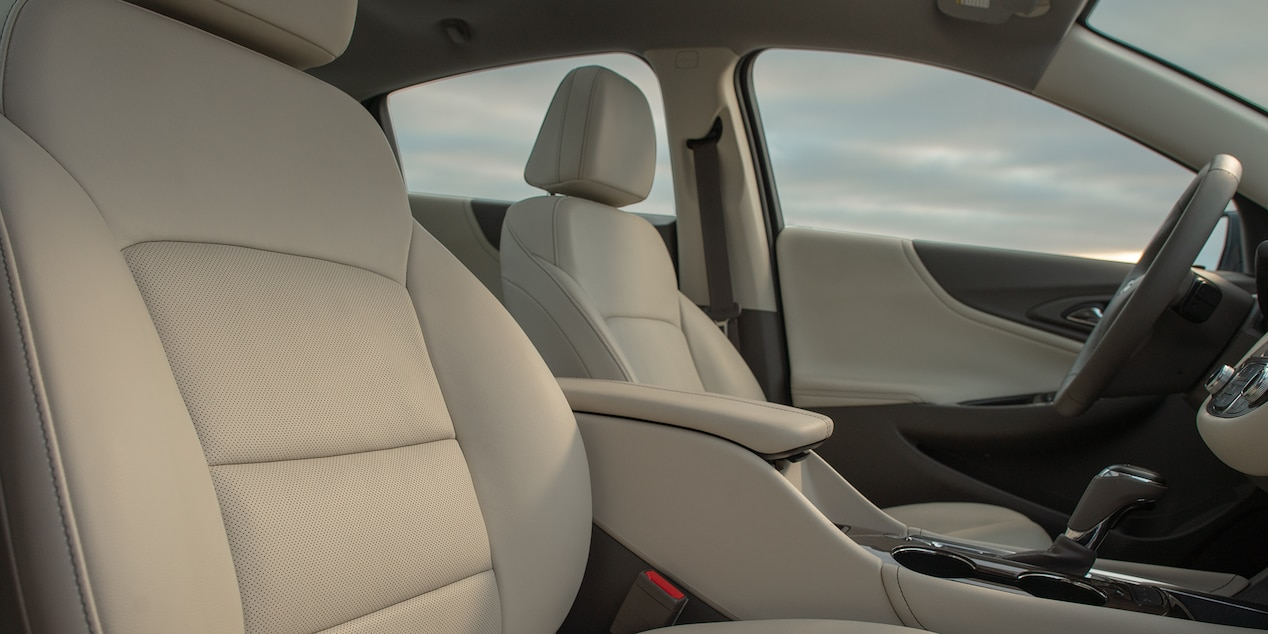 Upscale Interior of the 2019 Chevy Malibu