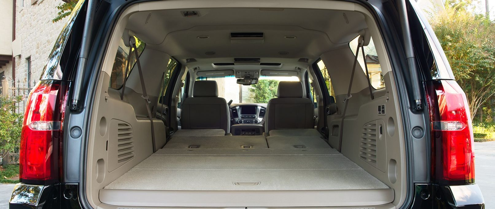 Ample Cargo Room in the 2019 Chevrolet Suburban