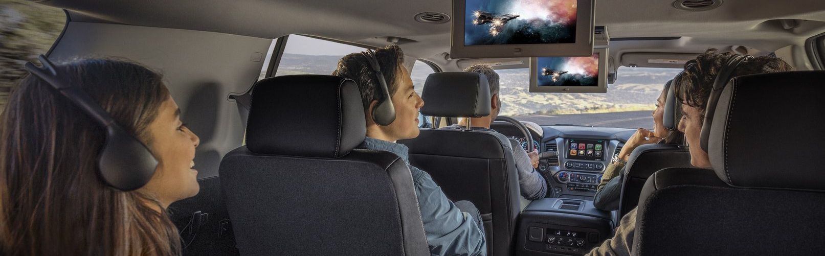 Keep the Family Entertained in the 2019 Suburban!