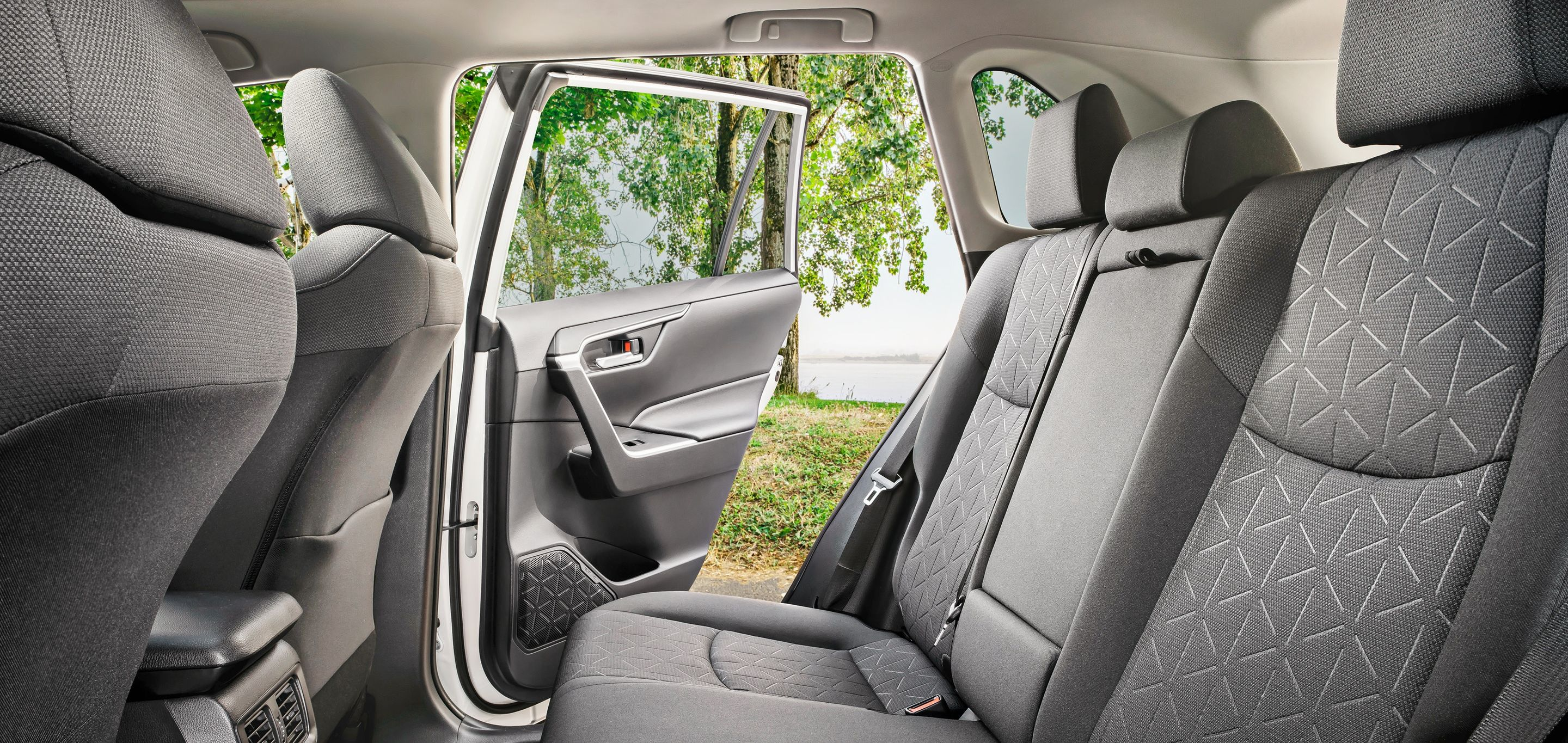Plenty of Room in the 2019 Toyota RAV4!