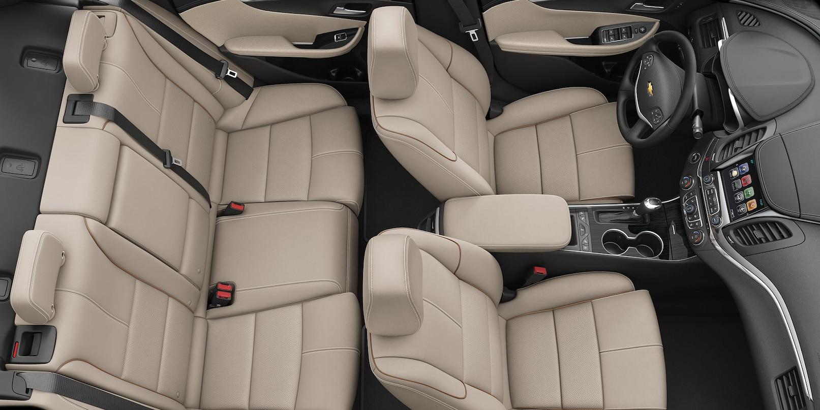 Interior of the 2019 Chevrolet Impala