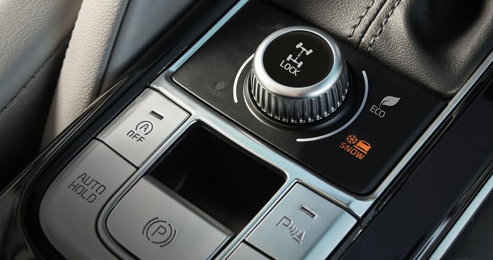 Drive Modes in the 2020 Kia Telluride
