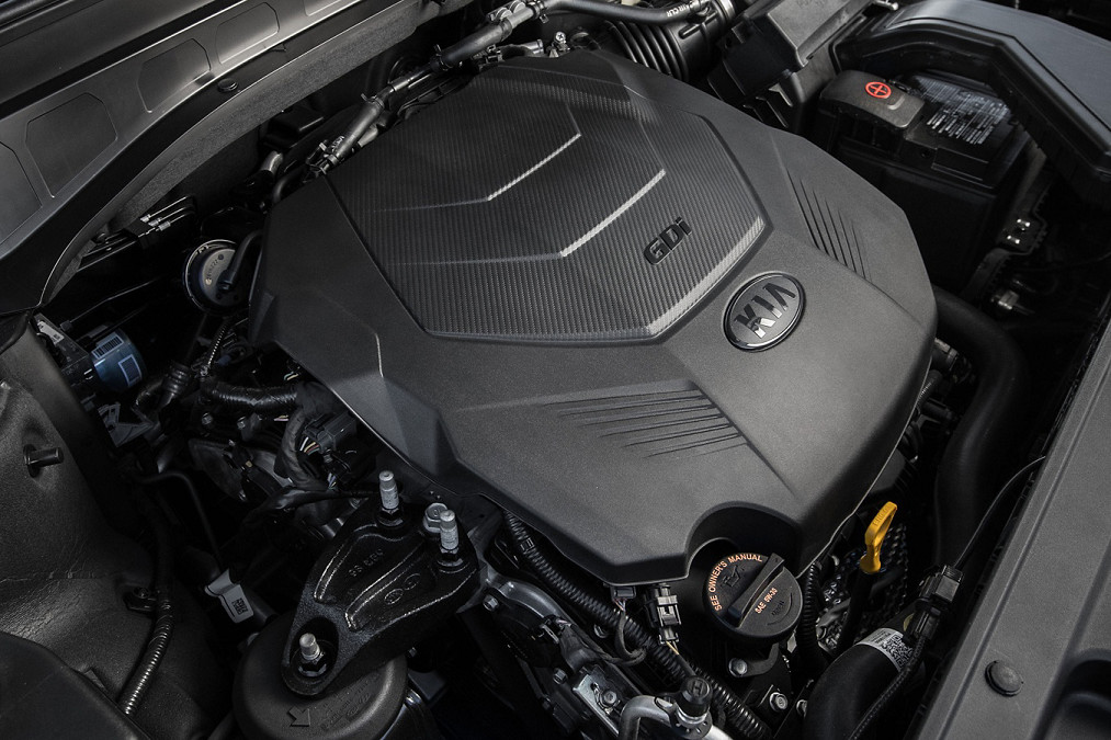 2020 Kia Telluride's Engine
