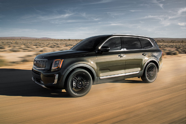 2020 Kia Telluride vs 2020 Ford Explorer near Escondido, CA