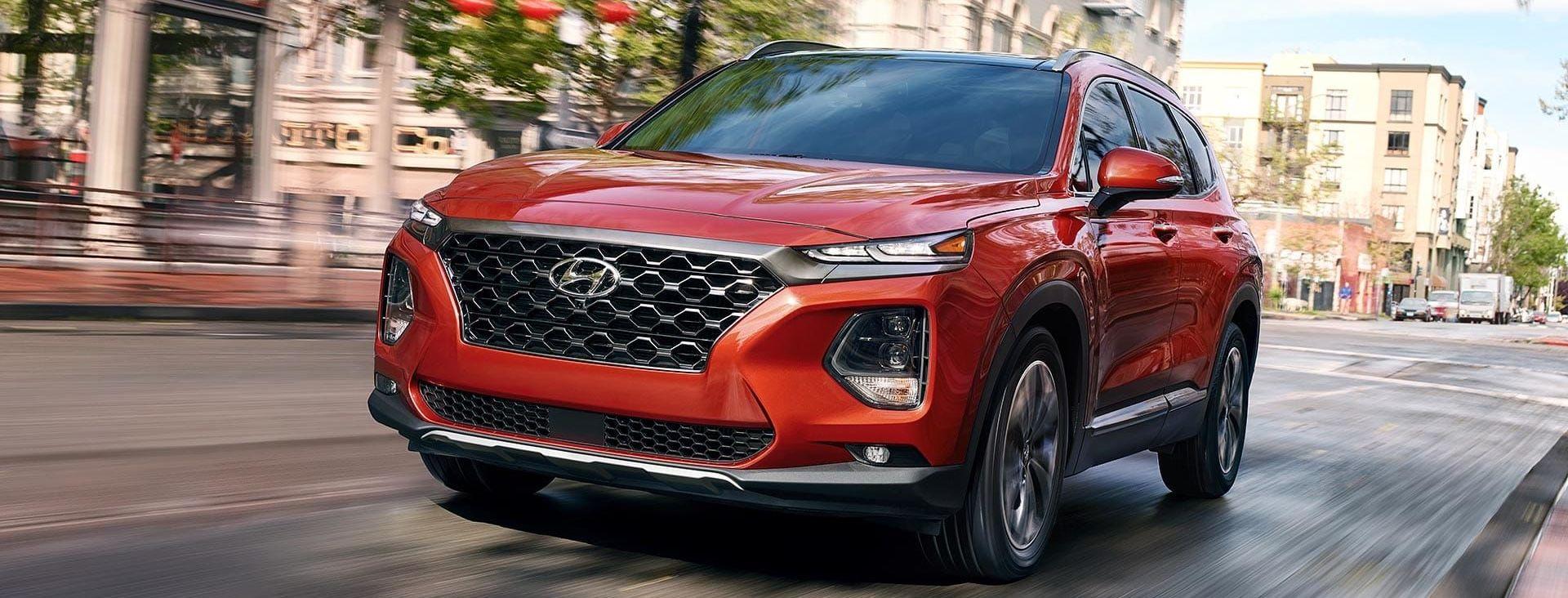 2019 Hyundai Santa Fe Leasing near Washington, DC