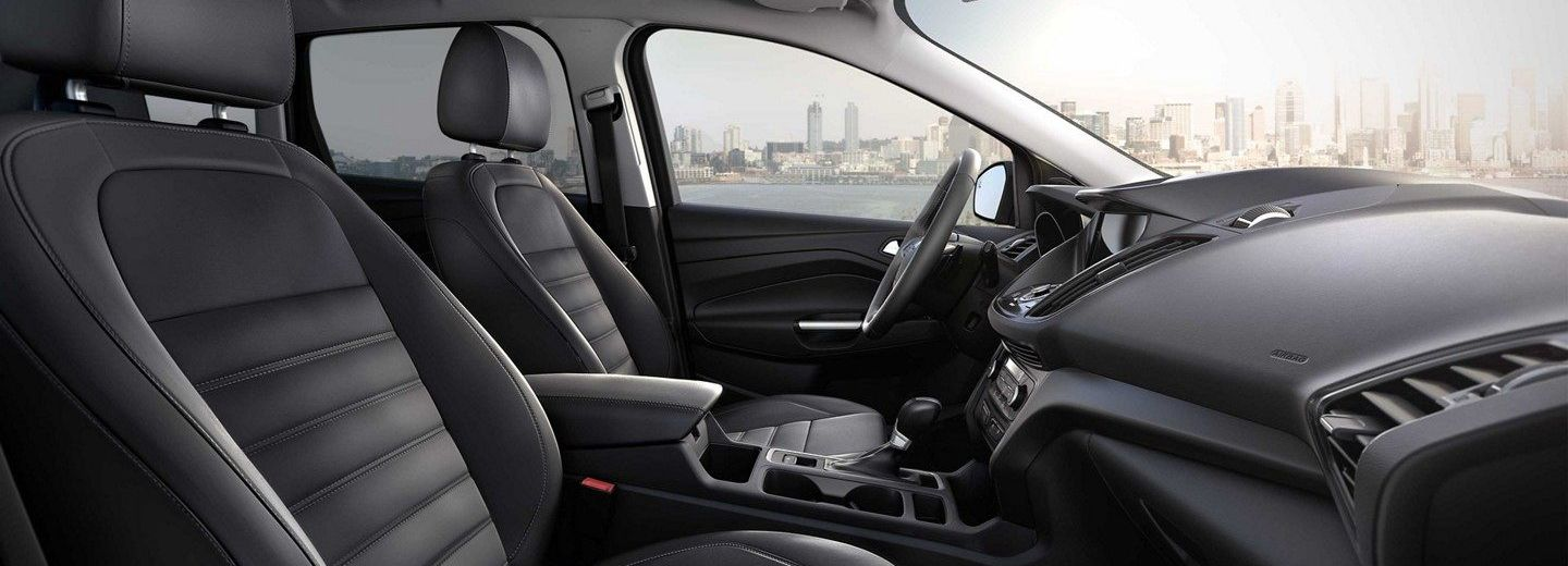 Front Seats of the 2019 Ford Escape